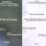 Lucrarea de doctorat a Laurei Codruța Kovesi