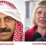Camelia Bogdan își face reclamă pe site-ul unui propagandist islamist radical