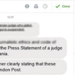 """Articolul din """"presa internațională"""" în care este lăudată Camelia Bogdan este scris chiar de Camelia Bogdan"""