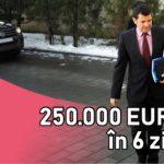 ANI refuză să ancheteze cum a obținut Daniel Constantin, liderul partidului Pro România, 250.000 euro în 6 zile
