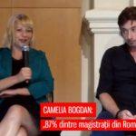 După ce a fost exclusă din magistratură, Camelia Bogdan a ajuns să susțină că Justiția din România e făcută de Masonerie