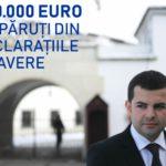 În 2 ani, din declarațiile de avere ale lui Daniel Constantin au dispărut peste 400.000 Euro