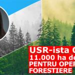 Politicienii vând pădurile României. Politicienii USR