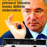 TOATE cele 500 de autobuze fără aer condiționat cumpărate în 2005 de primarul Videanu au avut defecte sistematice