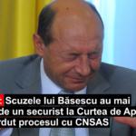 Precedentul care îl îngroapă pe Băsescu